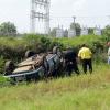 Vehicle Overturned in Webb
