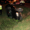 Single-Vehicle Roll Over on Sanders Sends One to the Hospital and One to Jail