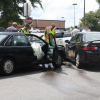 Two-Vehicle Accident at St. Columba in Dothan Sends One to the Hospital