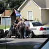 Dothan Police Dept. and Houston County Sheriff's Dept. have a footchase