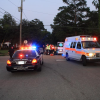 Motorcycle Accident on Moates Street Sends one to the Hospital