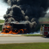 Dump Truck Slams Into Semi and Erupts Into Flames in Pike County