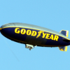 Goodyear Blimp Flies Over Dothan
