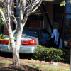 Car Runs Into HealthSouth